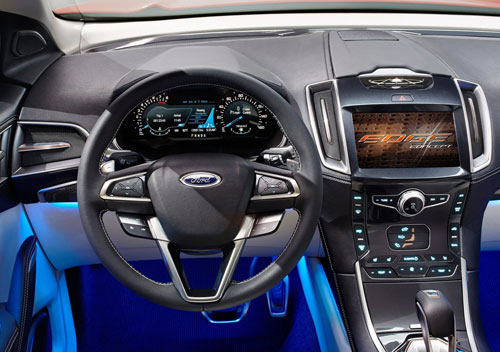Ford Edge Concept (interior)