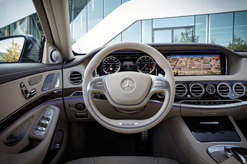 Mercedes-Benz S 65 AMG (interior)