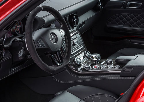 Mercedes-Benz SLS AMG GT Final Edition (interior)