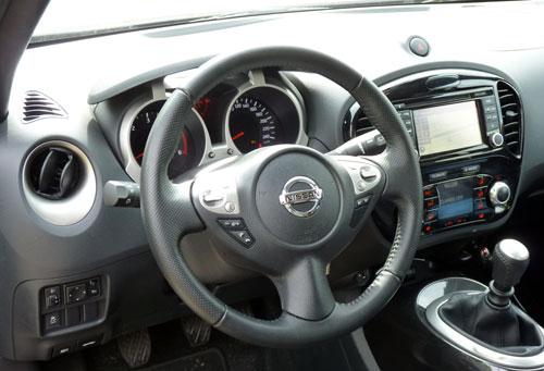Nissan Juke (interior)