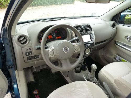 Nissan Micra (interior)