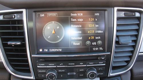 Porsche Panamera Hybrid (consumo)