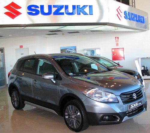 Suzuki SX4 S-Cross en Suzuki Madrid (1)