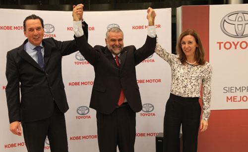 Kobe Motor recibe el premio Club de Oro de Toyota España (4)