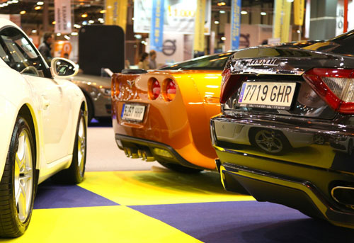 Maserati,-Corvette,-Porsche.-Salón-VO.-Madrid