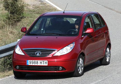 Tata Vista Diesel LX (frontal)