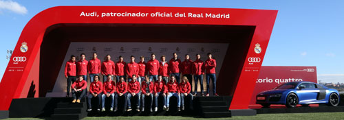 Entrega Audi Real Madrid