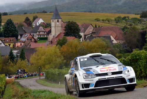 Sebastien Ogier WRC Gales
