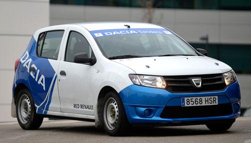 Dacia Sandero Rallye Cup (frontal)
