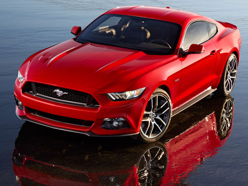 Ford Mustang (frontal)