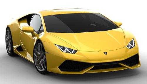 Lamborghini Huracan (frontal)