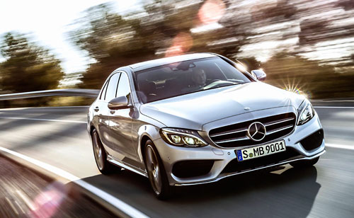 Mercedes-Benz Clase C (frontal)