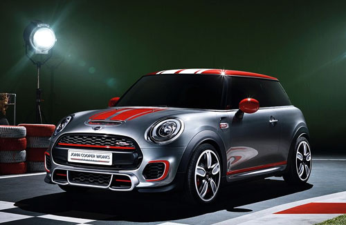 Mini JCW Concept (frontal)