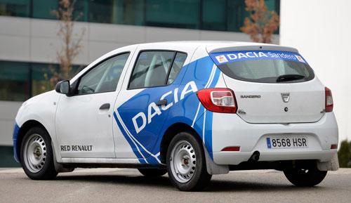 Dacia Sandero Rallye Cup (trasera)