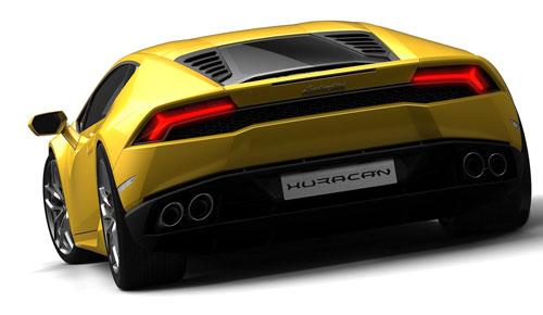 Lamborghini Huracan (trasera)