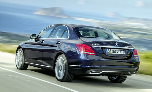Mercedes-Benz Clase C (trasera)