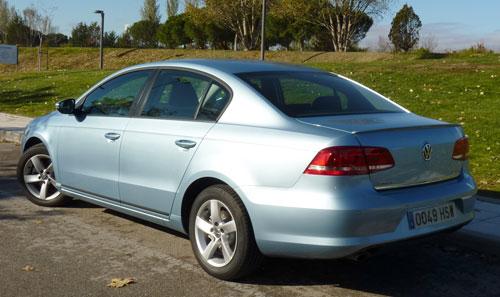 Volkswagen Passat BlueMotion (trasera)