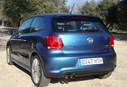Volkswagen Polo BlueGT (trasera)