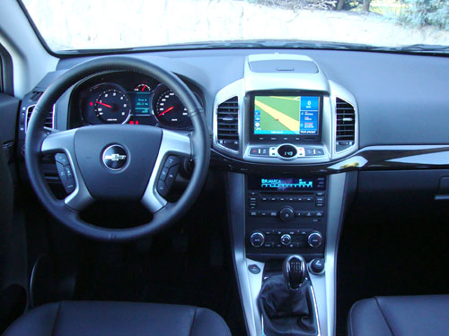 Chevrolet Captiva (interior)