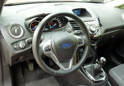 Ford Fiesta (interior)