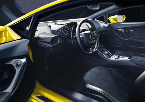 Lamborghini Huracan (interior)