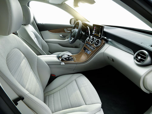 Mercedes-Benz Clase C (interior)