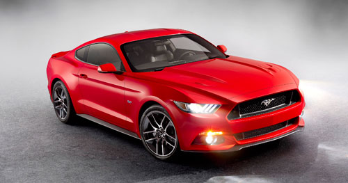 Ford Mustang (luces)