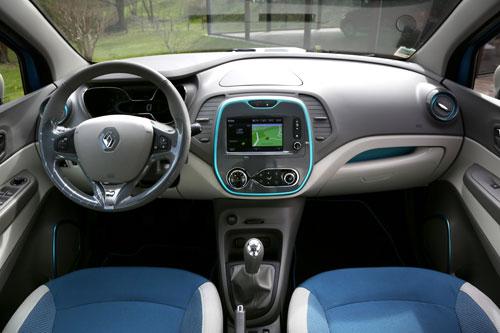 Renault Captur (interior)