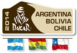 Logo Rally Dakar 2014