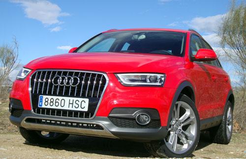 Audi Q3 (frontal)