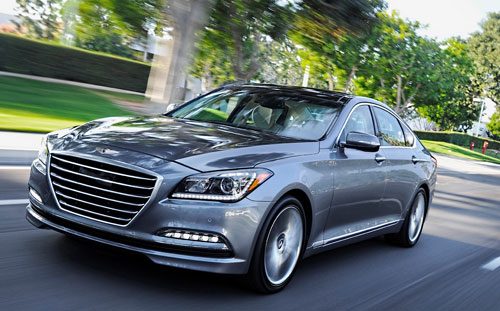 Hyundai Genesis (frontal)