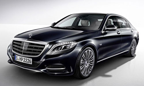 Mercedes-Benz S 600 (frontal)