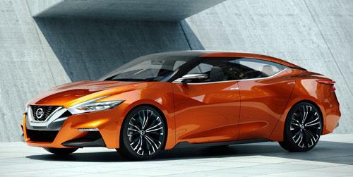 Nissan Sport Sedan Concept (frontal)