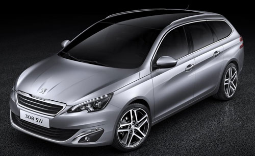 Peugeot 308 SW (frontal)