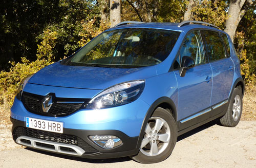 Renault Scenic XMOD (frontal)