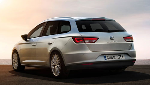 Seat León ST 4Drive (trasera)