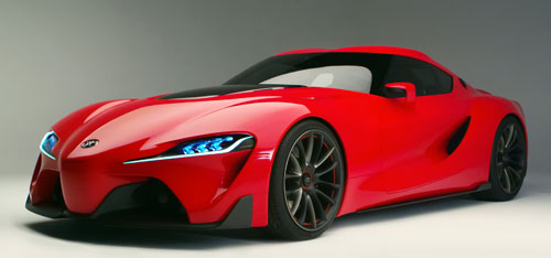 Toyota FT-1 (frontal)