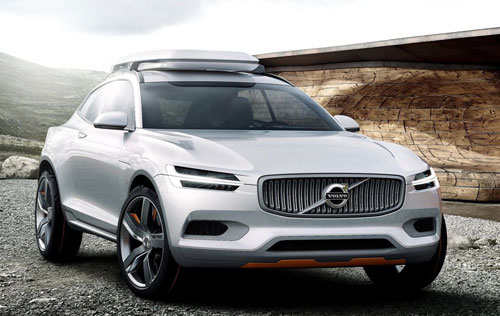 Volvo XC Coupé Concept (frontal)