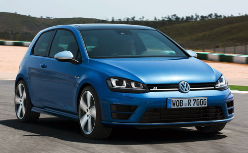 Volkswagen Golf R (frontal)