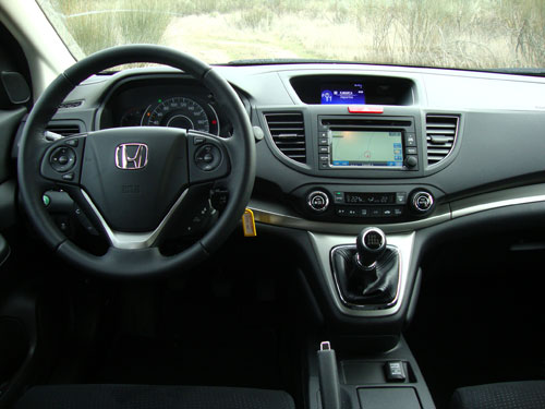 Honda CR-V (interior)