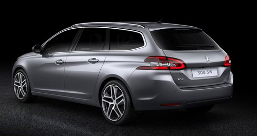 Peugeot 308 SW (trasera)