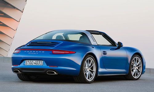 Porsche 911 Targa (trasera)