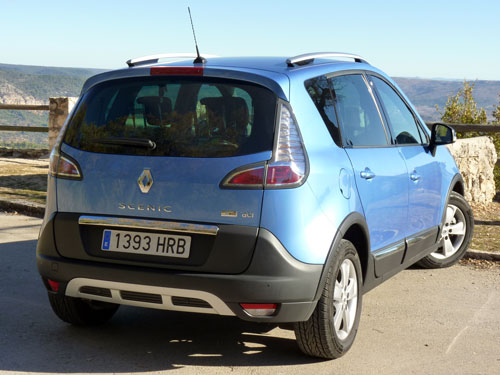 Renault Scenic XMOD (trasera)