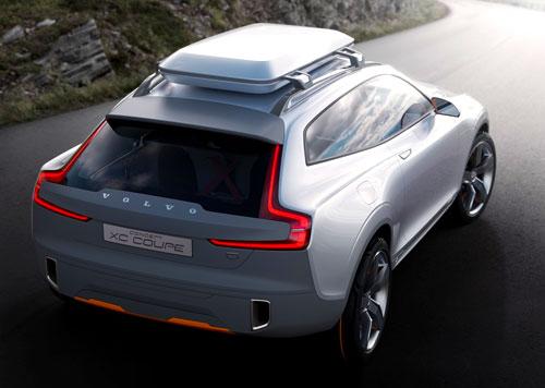 Volvo XC Coupé Concept (trasera)