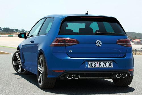Volkswagen Golf R (trasera)