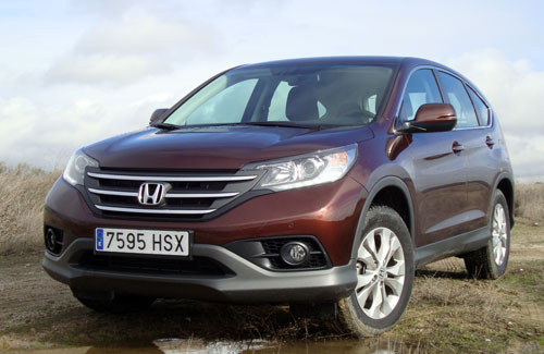 Honda CR-V (frontal)