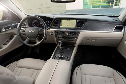 Hyundai Genesis (interior)