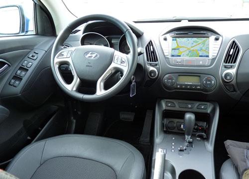 Hyundai ix35 (interior)