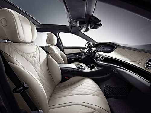Mercedes-Benz S 600 (interior)