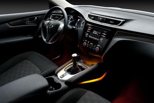 Nissan Qashqai (interior)